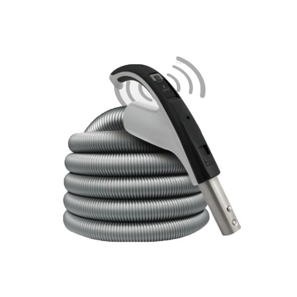 Tuyau d'aspirateur central sans fil