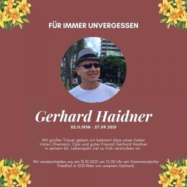 unvergessen-gerhard-haidner